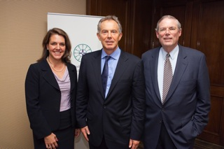 Kerry Robinson, Tony Blair, Geoff Boisi